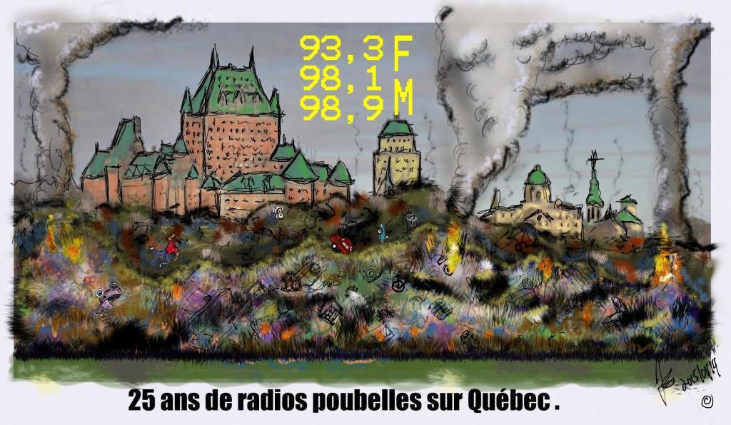 Québec sous les poubelles