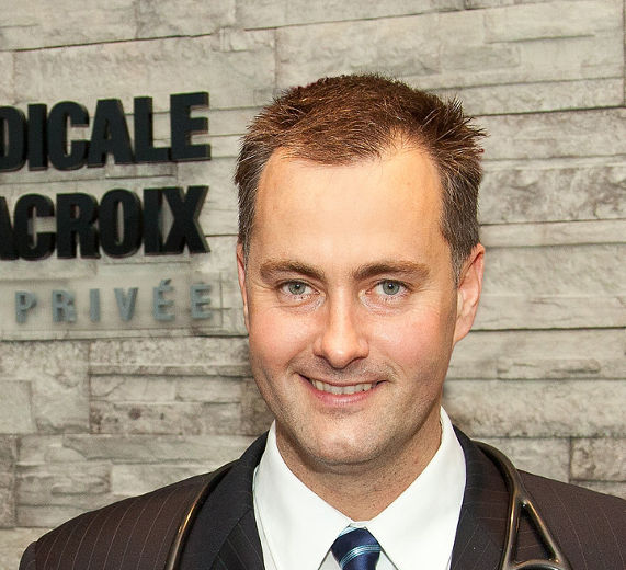 Docteur Lacroix, pionnier des cliniques de santé privé.